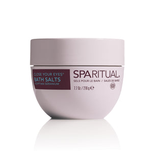 SpaRitual Close Your Eyes Bath Salts 7.7 Oz.
