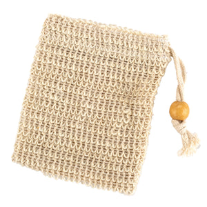 BEingWell Sisal Soap Sack