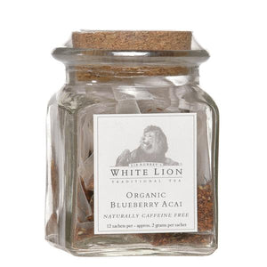 White Lion Organic Blueberry Acai Rooibos Tea