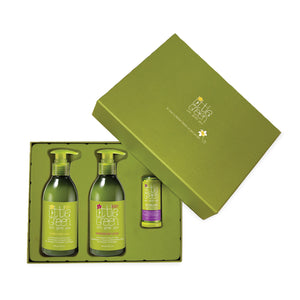 Little Green Baby Gift Set with Soothing Balm