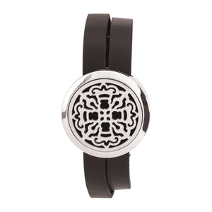 Serina & Company Ancient Cross Aromatherapy Locket Bracelet
