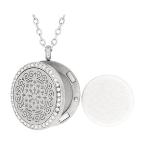 Serina & Company Stainless Steel Siren Crystals Pendant