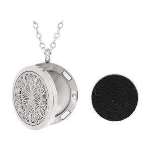 Serina & Company Stainless Steel Circle of Love Pendant