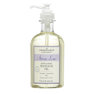 Aromafloria Stress Less Massage Oil 9 Fl. Oz.