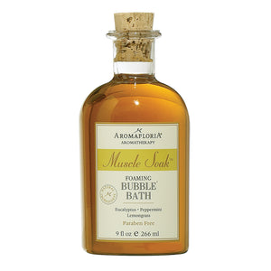 Aromafloria Muscle Soak Bubble Bath 9 Fl. Oz.