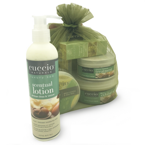 BEingWell Cuccio Pedicure Gift Set