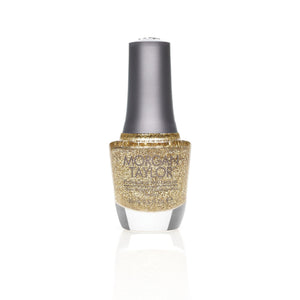 Morgan Taylor Glitter and Gold Nail Lacquer 0.5 Fl. Oz.