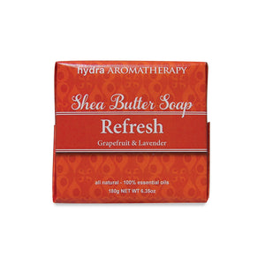 hydraAROMATHERAPY Shea Butter Soap Refresh 1 Pc.