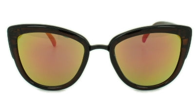 Alba - Orange Lens - Translucent Brown Frame