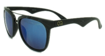 Bruno - Blue Mirror Lens - Black Frame
