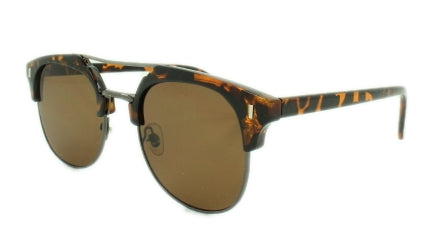 Dakota - Brown Lens - Tortoise Shell Frame, Gun Metal Trim