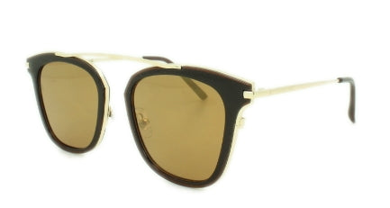 Jayden -Brown Lens - Gold Frame