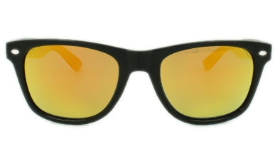 Marley - Orange Mirror Lens - Glossy Black Frame