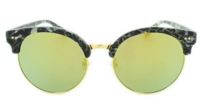 Reese - Gold Mirror Lens - Multi-Colored Granite Frame