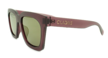 Selma -Cranberry Frame with Multi Color Matching Mirror Lens -
