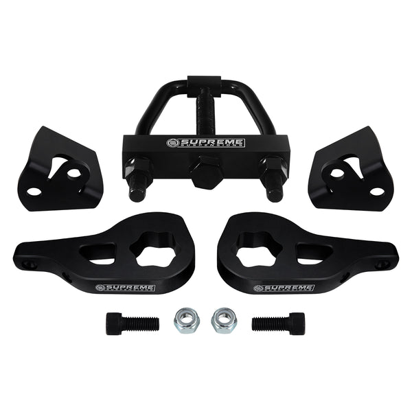 "2002-2005 Dodge Ram 1500 Adjustable 1-3"" Front Suspension Lift Kit & Shock Extenders & Install Tool 4WD 4x4"