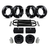 1980-1996 Ford Bronco Full Suspension Lift Kit, Extended Pro Comp Shocks & Wheel Spacers