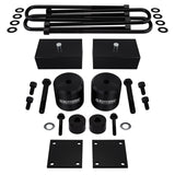 2017 - 2020 Ford F350 Super Duty Full Suspension Lift Kit with Brake Line and Bump Stop Relocation Kits 4WD 4x4