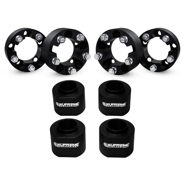 1997-2006 Jeep Wrangler TJ Full Coil Spacer Lift Kit & Wheel Spacers 2WD 4WD