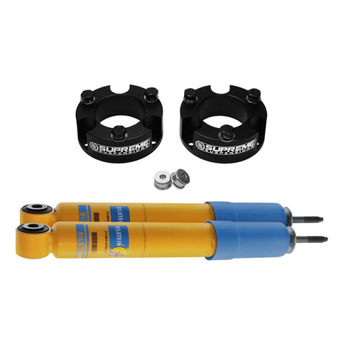 "2009-2012 Suzuki Equator Front Suspension Lift Kit & Bilstein Shocks 2WD-Suspension Lift Kits-Bilstein and Supreme Suspensions-2.5""-4600 Series-Supreme Suspensions®"
