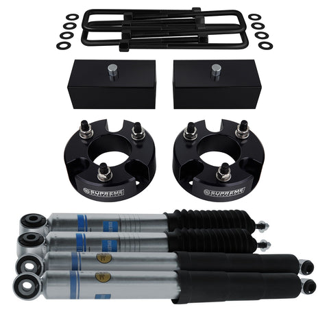 "2009-2012 Suzuki Equator Full Suspension Lift Kit & Bilstein Shocks 2WD 4WD-Suspension Lift Kits-Bilstein and Supreme Suspensions-2""-1""-5100 Series-Supreme Suspensions®"