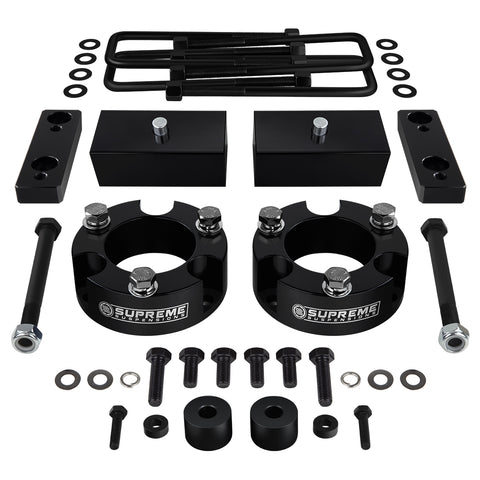 "2005-2020 Toyota Tacoma Full Suspension Lift Kit w/ Differential Drop & Sway Bar Extension 4WD 4x4-Suspension Lift Kits-Supreme Suspensions-2.5""-1.5""-Supreme Suspensions®"
