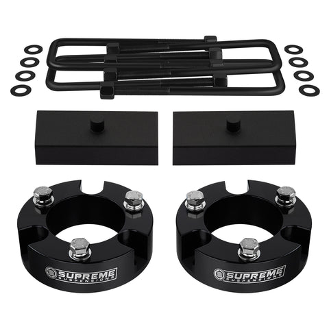 "2005-2020 Toyota Tacoma Full Suspension Lift Kit 2WD 4WD | SUPREME'S NEW HD STEEL LIFT BLOCKS!-Suspension Lift Kits-Supreme Suspensions-Black-2""-1""-Supreme Suspensions®"