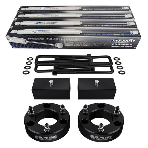 "2007(New)-2013 Chevy Silverado 1500 Full Suspension Lift Kit & Extended Length Pro Comp Shocks 2WD 4WD-Suspension Lift Kits-Pro Comp and Supreme Suspensions-2""-1""-Supreme Suspensions®"