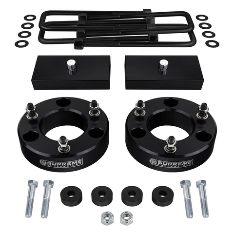 "2007(New)-2018 GMC Sierra 1500 Full Suspension Lift Kit & Differential Drop 4WD 4x4-Suspension Lift Kits-Supreme Suspensions-2.5""-1.5""-Supreme Suspensions®"