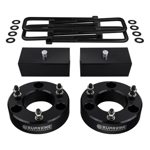 "2007(New)-2020 Chevy Silverado 1500 Full Suspension Lift Kit 2WD 4WD-Suspension Lift Kits-Supreme Suspensions-2.5""-1.5""-Supreme Suspensions®"