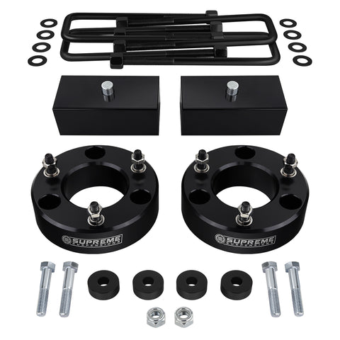 "2007(New)-2018 GMC Sierra 1500 Full Suspension Lift Kit & Differential Drop 4WD 4x4-Suspension Lift Kits-Supreme Suspensions-2""-1.5""-Supreme Suspensions®"