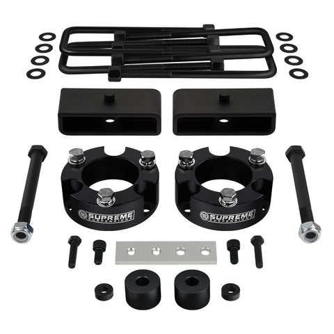 "1995-2004 Toyota Tacoma Full Suspension Lift Kit with Differential Drop Spacers 4WD | SUPREME'S NEW HD STEEL LIFT BLOCKS!-Suspension Lift Kits-Supreme Suspensions-2""-1.5""-Supreme Suspensions®"