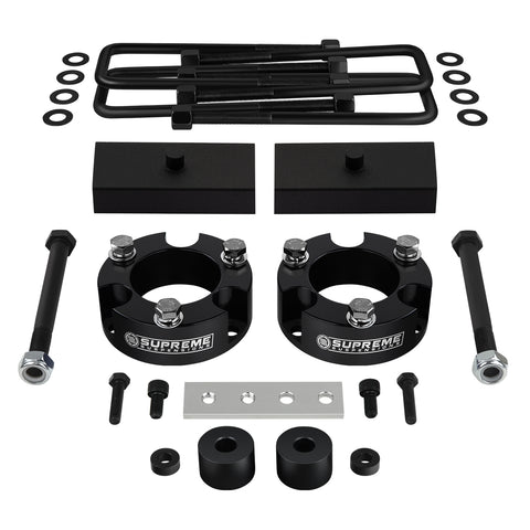 "1995-2004 Toyota Tacoma Full Suspension Lift Kit with Differential Drop Spacers 4WD | SUPREME'S NEW HD STEEL LIFT BLOCKS!-Suspension Lift Kits-Supreme Suspensions-2""-1""-Supreme Suspensions®"
