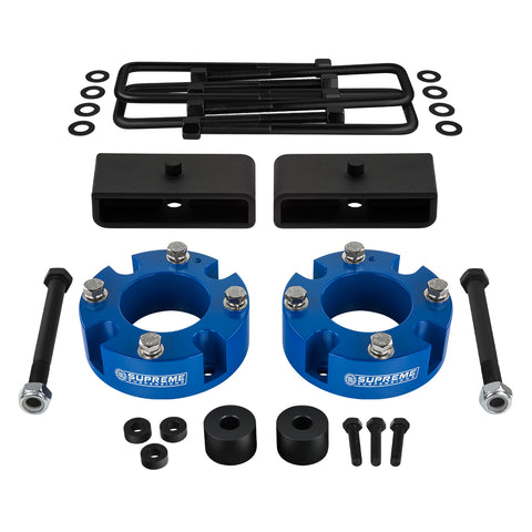 "2007-2020 Toyota Tundra Full Suspension Lift Kit with Differential Drop Kit 4WD | SUPREME'S NEW HD STEEL LIFT BLOCKS!-Suspension Lift Kits-Supreme Suspensions-2""-1.5""-Supreme Suspensions®"