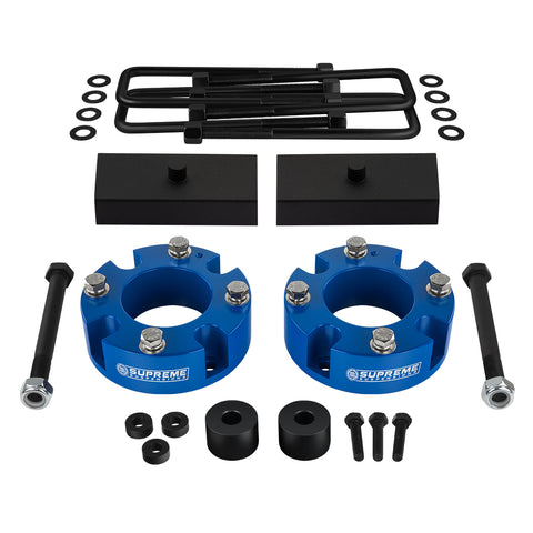 "2007-2020 Toyota Tundra Full Suspension Lift Kit with Differential Drop Kit 4WD | SUPREME'S NEW HD STEEL LIFT BLOCKS!-Suspension Lift Kits-Supreme Suspensions-2""-1""-Supreme Suspensions®"