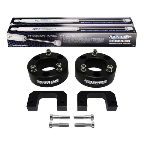 "2007(New)-2013 Chevy Silverado 1500 Front Suspension Lift Kit & Extended Length Pro Comp Shocks 2WD 4WD-Suspension Lift Kits-Pro Comp and Supreme Suspensions-3.5""-Supreme Suspensions®"