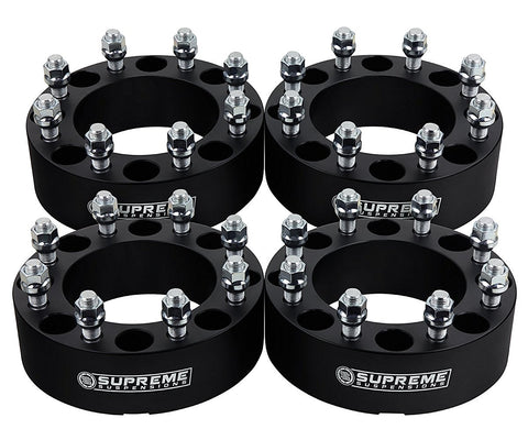 "2011-2017 GMC Sierra 2500HD 2"" Lug Centric Wheel Spacers 2WD 4WD"