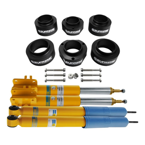 "1989-1998 Suzuki Sidekick 2"" Full Suspension Lift Kit & Bilstein Shocks 2WD 4WD"