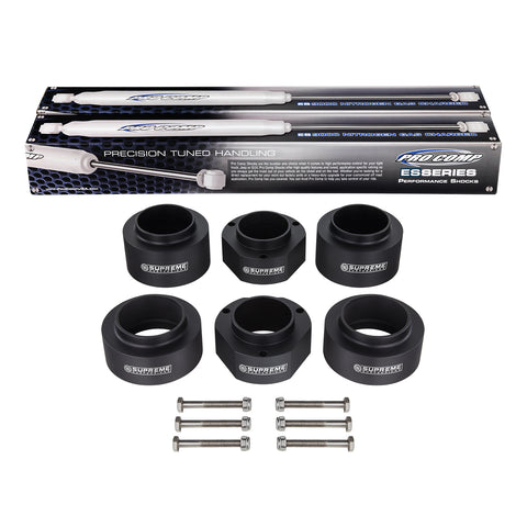 "1989-1998 Suzuki Sidekick 2"" Full Suspension Lift Kit & Extended Length Pro Comp Shocks 4WD 4x4"