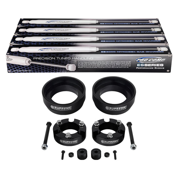 2007-2014 Toyota FJ Cruiser Full Suspension Lift Kit w/ Differential Drop & Pro Comp Shocks 4WD 4x4