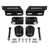 2005-2019 Ford Super Duty Front Suspension Lift Kit, Shock Extenders & Sway Bar Drop Bracket 4WD