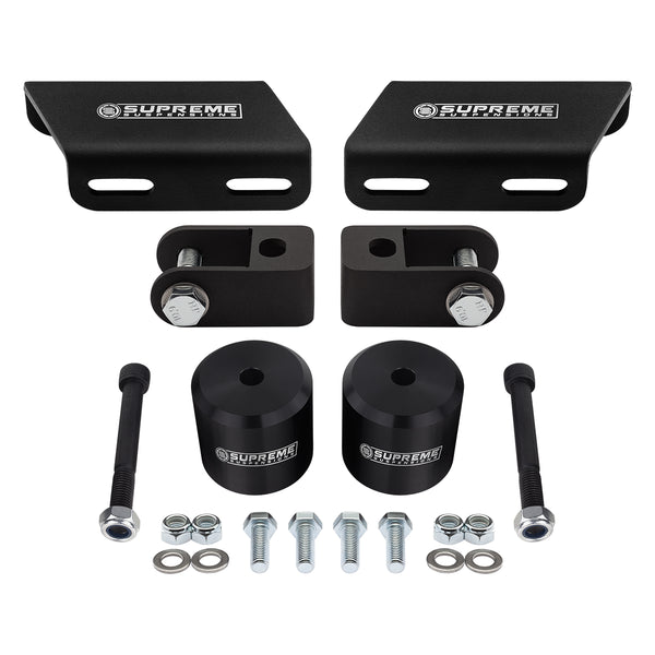 2008-2020 Ford Super Duty Front Suspension Lift Kit, Shock Extenders & Sway Bar Drop Bracket 4WD