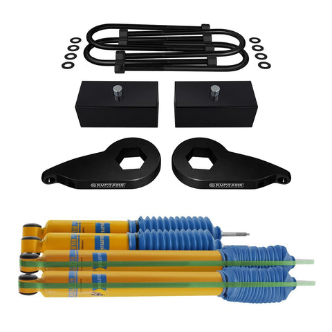1997-2003 Ford F150 Full Suspension Lift Kit & Bilstein Shocks 4WD 4x4