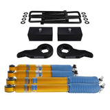 1988-1999 Chevy K2500 Full Suspension Lift Kit & Bilstein Shocks 4WD 4x4