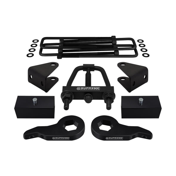 2001-2010 GMC Sierra 1500HD Full Suspension Lift Kit & Install Tool 4WD 2WD