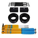 1988-1999 Chevy C2500 Full Suspension Lift Kit & Bilstein Shocks 2WD 4x2