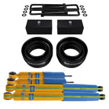 1994-2002 Dodge Ram 2500 Full Suspension Lift Kit & Bilstein Shocks 2WD