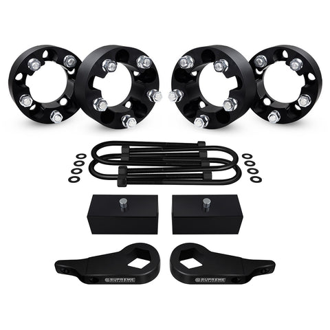 "1998-2006 Mazda B-Series Pickup Full Suspension Lift Kit & Wheel Spacers 4WD 4x4-Suspension Lift Kits-Supreme Suspensions-1"" - 3""-1.5""-Supreme Suspensions®"