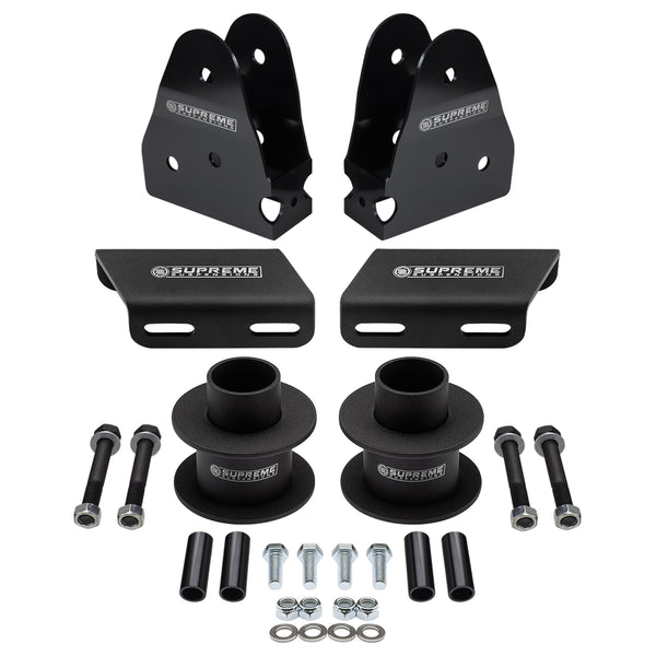2005-2019 Ford Super Duty Front Suspension Lift Kit, Sway Bar Brackets & Radius Arm Drop Kit 4WD 4x4