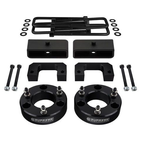 "2007-2020 GMC Sierra 1500 Full Suspension Lift Kit 6-Lug / 2WD 4WD | SUPREME'S NEW HD STEEL LIFT BLOCKS!-Suspension Lift Kits-Supreme Suspensions-3.5""-1.5""-Supreme Suspensions®"